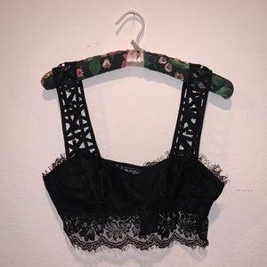 LF Lace Crop Top